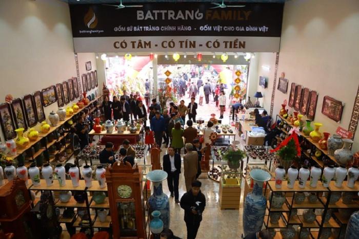 Mô hình BatTrang Family Mart đã có mặt tại nhiều tỉnh, thành lớn trên cả nước.