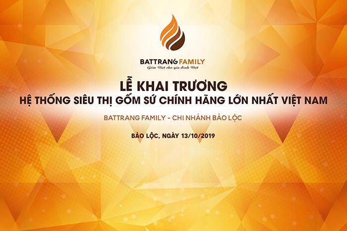 Khai Trương Chi Nhánh Bát Tràng Family Bảo Lộc - Lâm Đồng