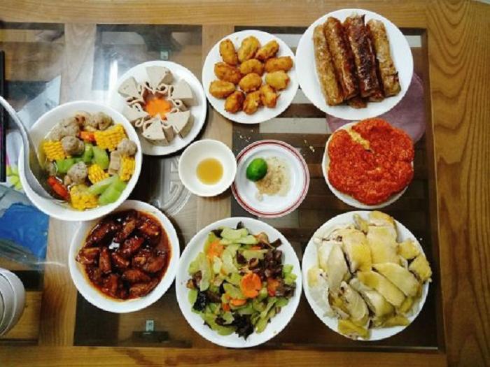 Các món trong mâm cơm cúng giỗ ở miền Bắc