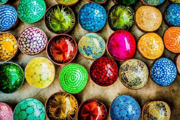 Màu sắc sặc sở của gốm sứ Thanh Hà