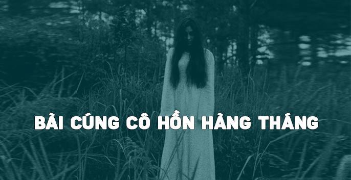 Bài cúng cô hồn hàng tháng của người Việt Nam