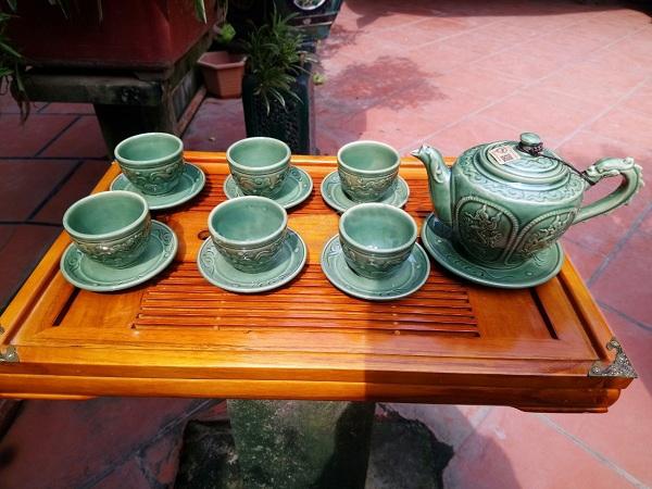 Bộ ấm chén nghệ nhân Tô Thanh Sơn 42