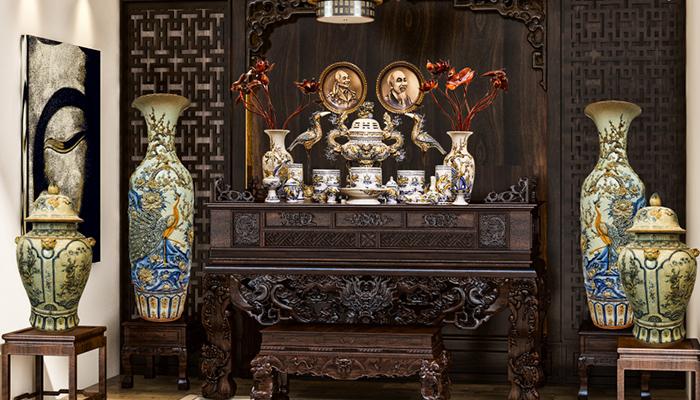 Cách đặt lư hương trên bàn thờ mang nhiều may mắn