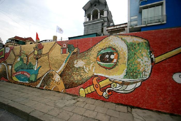 Con đường gốm sứ ở đâu tại Hà Nội