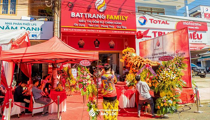 BatTrang Family Bảo Lộc địa chỉ mua gốm sứ Bát Tràng chính hãng