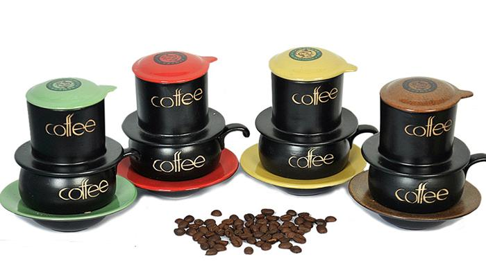 Phin cafe gốm sứ Bát Tràng chính hãng
