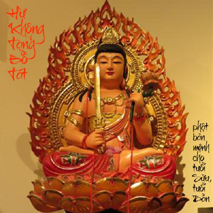 Phật Hư Không Tạng Bồ Tát, Vị Phật hộ mệnh tuổi Sửu và tuổi Dần