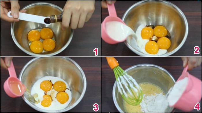 Hướng dẫn cách làm bánh bông lan thơm ngon tại nhà