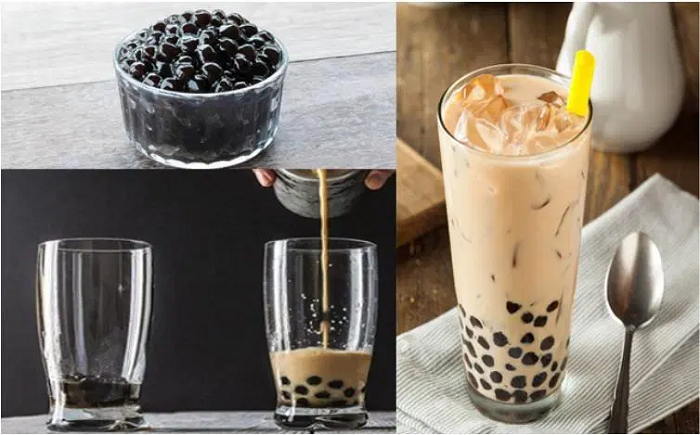 Cách làm trà sữa đơn giản thơm ngon nhà làm