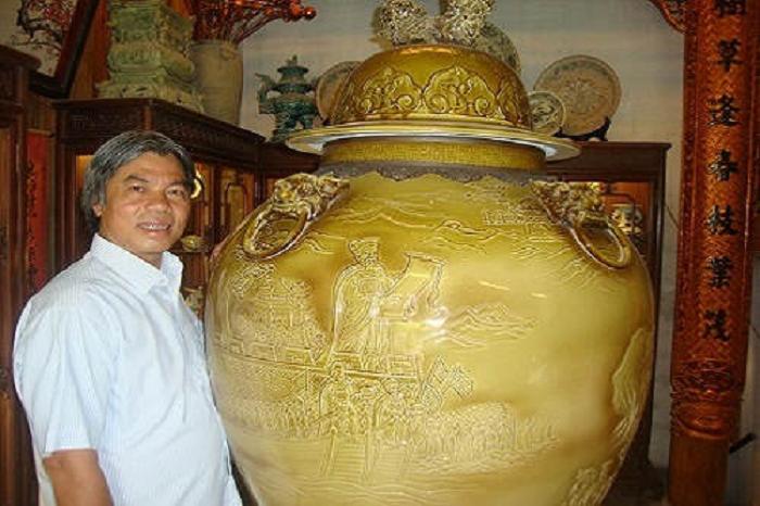 Nghệ nhân Bát Tràng nổi tiếng Tô Thanh Sơn
