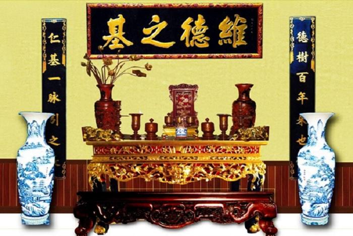 Phong tục thờ cửu huyền thất tổ trong văn hoá Việt Nam