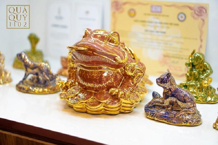 Ý nghĩa linh vật Kim Thiềm Bảo Ngọc