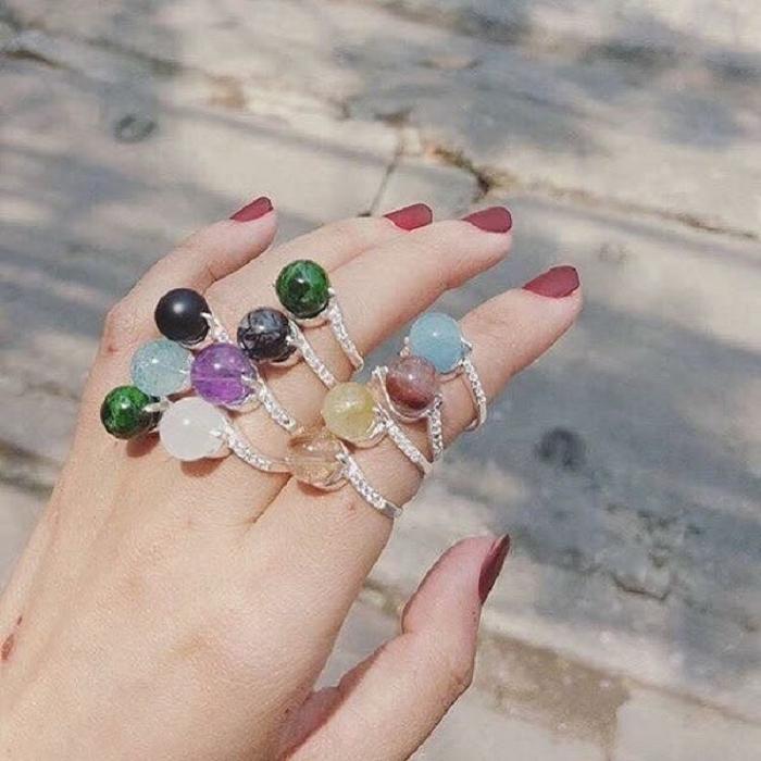Mách bạn cách chọn nhẫn đá phong thủy theo tuổi