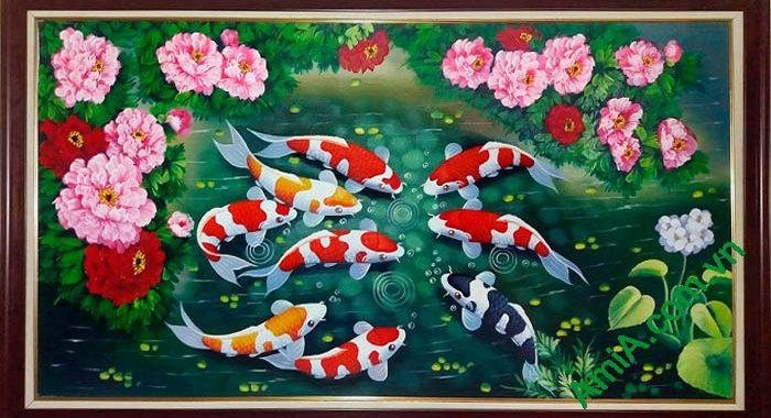Tìm hiểu về tranh cá chép hợp với tuổi nào?