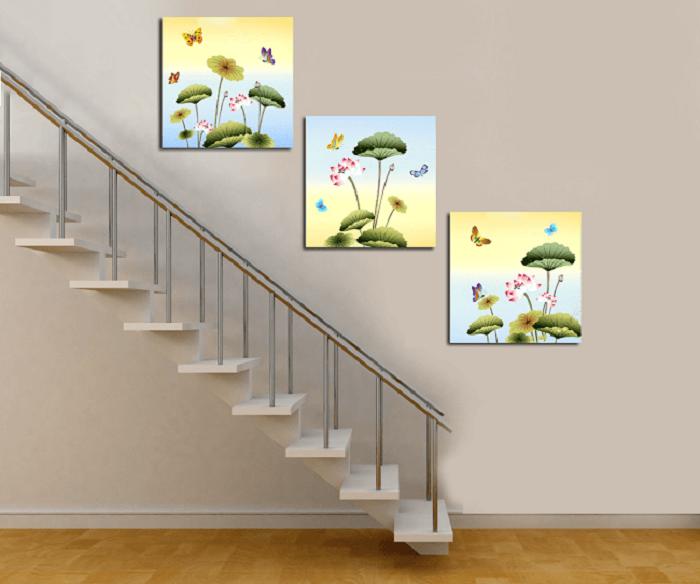 Cách chọn tranh treo cầu thang hợp phong thủy