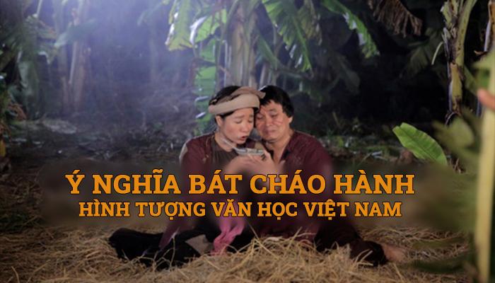 Ý nghĩa bát cháo hành, hình tượng văn học Việt Nam